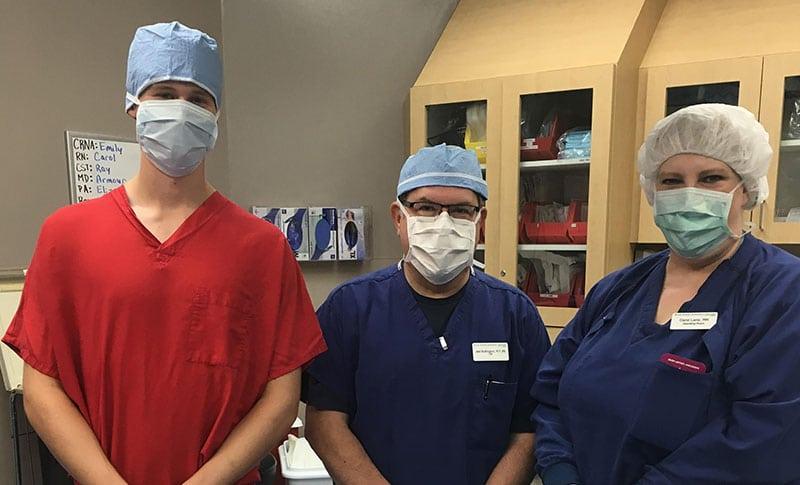 Orthopaedic high school internship